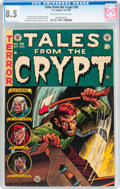 Golden Age (1938-1955):Horror, Tales From the Crypt #38 (EC, 1953) CGC VF+ 8.5 Off-white to whitepages....