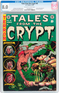 Golden Age (1938-1955):Horror, Tales From the Crypt #40 (EC, 1954) CGC VF 8.0 Off-white to whitepages....