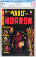 Golden Age (1938-1955):Horror, Vault of Horror #38 (EC, 1954) CGC VF/NM 9.0 Off-white to whitepages....