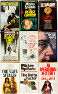 Books:Pulps, [Vintage Paperbacks]. Group of Fourteen Vintage Signet Paperbacks.New York: Signet, [1960s]. Includes works by Spillane, Ra...(Total: 14 Items)