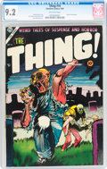 Golden Age (1938-1955):Horror, The Thing! #16 (Charlton, 1954) CGC NM- 9.2 Off-white pages....