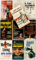 Books:Pulps, [Vintage Paperbacks]. Group of Ten Vintage Signet T-SeriesPaperbacks. New York: Signet, [1960s]. Includes works by Jones,R... (Total: 10 Items)