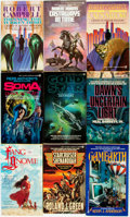 Books:Pulps, [Genre Paperbacks]. Group of Thirty-Four Genre Signet Paperbacks.New York: Signet, [1980s]. Includes works by Hughes, Eisen...(Total: 34 Items)