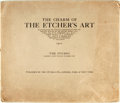Books:Art & Architecture, [Etching]. The Charm of the Etcher's Art. London: The Studio, 1920. Illustrated by twelve reproductions of recent pl...