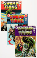 Bronze Age (1970-1979):Horror, Swamp Thing #1-18 Group (DC, 1972-75) Condition: Average VF/NM....(Total: 18 Comic Books)