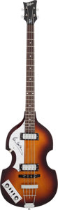 Music Memorabilia:Autographs and Signed Items, Beatles - Paul McCartney Signed Bass Guitar....