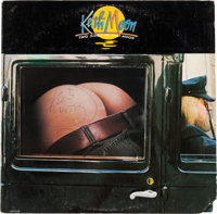 The Who - Keith Moon Two Sides of the Moon Signed Record Album (MCA, 1974)