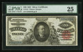 Large Size:Silver Certificates, Fr. 318 $20 1891 Silver Certificate PMG Very Fine 25.. ...