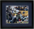 Football Collectibles:Photos, Emmitt Smith Signed Photograph....