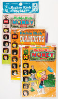 Bronze Age (1970-1979):Humor, Richie Rich Polybagged Sets File Copies Box Lot (Harvey, 1972-75) Condition: Average NM-....