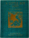 Books:Children's Books, W.H. Hudson. A Little Boy Lost. Illustrated by Dorothy P.Lathrop. Knopf, 1920. First edition. Quarto. 187 pages. Or...