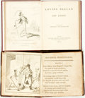 Books:Literature Pre-1900, [George Cruikshank]. Two Illustrated Books, One Illustrated byGeorge Cruikshank. Various publishers and dates. Thin sixteen...(Total: 2 Items)