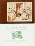 Books:Biography & Memoir, [Isaac Cruikshank] [Thomas Rowlandson]. Two Books about Isaac Cruikshank and Thomas Rowlandson. Various publishers and dates... (Total: 2 Items)
