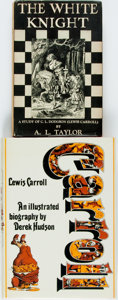 Books:Biography & Memoir, [Lewis Carroll]. Two Books about Lewis Carroll. Various publishersand dates. Original bindings and dust jackets. Some rubbi...