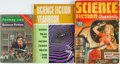 Books:Pulps, [Pulps]. Three Miscellaneous Pulp Magazines. Various publishers,1952, 1970, 1977. Original printed wrappers. Edgewear and t...(Total: 3 Items)