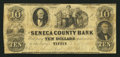 Obsoletes By State:Ohio, Tiffin, OH- The Seneca County Bank $10 Aug. 9, 1854 G8a Wolka2533-14. ...