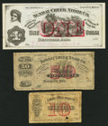 Obsoletes By State:Ohio, Rendville, OH- Sunday Creek Store Co. 10¢; 50¢; $1 Faded, Mar. 13,1883 Wolka 2304-02; -04; -05. ... (Total: 3 notes)
