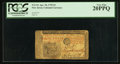 Colonial Notes:New Jersey, New Jersey April 10, 1759 £3 PCGS Very Fine 20PPQ.. ...