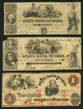 Obsoletes By State:Ohio, Piqua, OH- The State Bank of Ohio, Piqua Branch Counterfeit $1; $1(2) 1847-62 C1106 (SENC); G1108a (SENC); G1110a (SENC... (Total: 3notes)