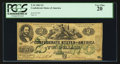 Confederate Notes:1862 Issues, Fully Framed T43 $2 1862.. ...