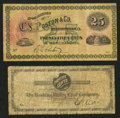 Obsoletes By State:Ohio, Nelsonville, OH- The Hocking Valley Coal Company 25¢ Undated Wolka1806-03. Nelsonville, OH- C.L. Poston & Co. 25¢ Undat...(Total: 2 notes)