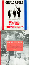 Books:Americana & American History, [Americana]. Gerald Ford. Humor and the Presidency.[together with:] David Rubel. Mr. President. The Human S...(Total: 2 Items)