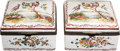 "Movie/TV Memorabilia:Props, A Pair of Decorative Porcelain Boxes from ""Words and Music.""...(Total: 2 Items)"