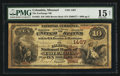 National Bank Notes:Missouri, Columbia, MO - $10 1882 Brown Back Fr. 482 The Exchange NB Ch. #1467. ...