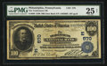 National Bank Notes:Pennsylvania, Philadelphia, PA - $100 1902 Date Back Fr. 689 The Tradesmens NBCh. # (E)570. ...