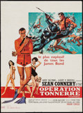"Movie Posters:James Bond, Thunderball (United Artists, 1965). French Petite (15.5"" X 23.5""). James Bond.. ..."