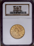 Liberty Eagles: , 1892-S $10 MS61 NGC. NGC Census: (41/76). PCGS Population (52/84). Mintage: 115,500. Numismedia Wsl. Price: $400. (#8724)...