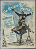 "Movie Posters:Academy Award Winner, An American In Paris (MGM, 1951). French Petite (23.5"" X 31.5"").Musical. Directed by Vincente Minnelli. Starring Gene Kelly..."