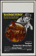 "Movie Posters:Western, Barquero (United Artists, 1970). Window Card (14"" X 22""). Western. Directed by Gordon M. Douglas. Starring Lee Van Cleef, Fo..."