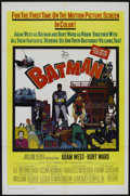 "Movie Posters:Fantasy, Batman (20th Century Fox, 1966). One Sheet (27"" X 41""). Fantasy Adventure. Directed by Leslie Martinson. Starring Adam West,..."