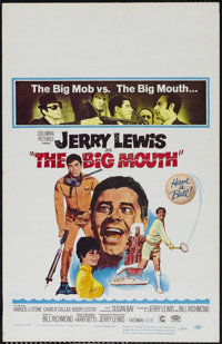 "The Big Mouth (Columbia, 1967). Window Card (14"" X 22""). Comedy. Directed by Jerry Lewis. Starring Lewis, Haro..."