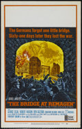 "Movie Posters:War, The Bridge At Remagen (United Artists, 1969). Window Card (14"" X22""). War. Directed by John Guillermin. Starring George Seg..."