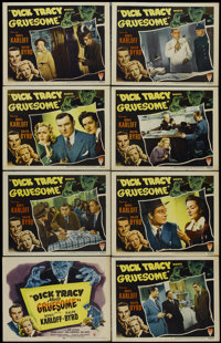 "Dick Tracy Meets Gruesome (RKO, 1947). Lobby Card Set of 8 (11"" X 14""). Crime. Directed by John Rawlins. Starr..."
