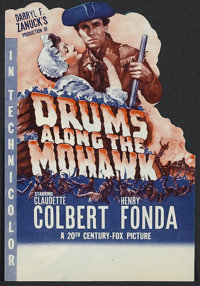 "Drums Along the Mohawk (20th Century Fox, 1939). Herald (8 1/2"" X 6""). Adventure. Directed by John Ford. Starr..."