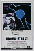 "Movie Posters:Musical, Give My Regards to Broad Street (20th Century Fox, 1984). One Sheet(27"" X 41""). Style B. Musical. Directed by Peter Webb. S..."