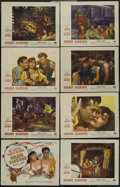 """Movie Posters:Romance, Golden Earrings (Paramount, 1947). Lobby Card Set of 8 (11"""" X 14""""). Adventure. Directed by Mitchell Leisen. Starring Ray Mil... (Total: 8 Items)"""