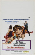 """Movie Posters:Drama, The Hell with Heroes (Universal, 1968). Window Card (14"""" X 22""""). Crime Drama. Directed by Joseph Sargent. Starring Rod Taylo..."""