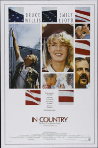 "In Country (Warner Brothers, 1989). One Sheet (27"" X 41""). Drama. Directed by Norman Jewison. Starring Bruce W..."