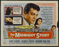 """Movie Posters:Crime, The Midnight Story (Universal International, 1957). Half Sheet (22"""" X 28"""") Style B. Crime...."""