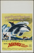 "Movie Posters:Adventure, Namu, the Killer Whale (United Artists, 1966). Window Card (14"" X22""). Drama. Directed by László Benedek. Starring Robert L..."