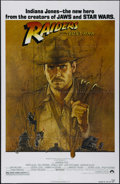"Movie Posters:Adventure, Raiders of the Lost Ark (Paramount, 1981). One Sheet (27"" X 41"").Adventure. Directed by Steven Spielberg. Starring Harrison..."