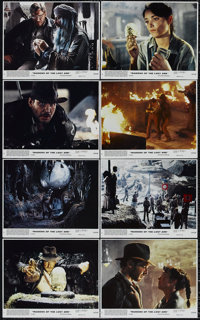 """Raiders of the Lost Ark (Paramount, 1981). Mini Lobby Card Set of 8 (8"""" X 10""""). Adventure. Directed by Steven..."""