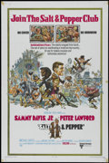 "Movie Posters:Comedy, Salt & Pepper (United Artists, 1968). One Sheet (27"" X 41""). Comedy. Directed by Richard Donner. Starring Sammy Davis Jr., P..."