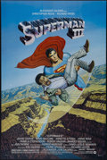 "Movie Posters:Adventure, Superman III (Warner Brothers, 1983). One Sheet (27"" X 41"").Adventure. Directed by Richard Lester. Starring Christopher Ree..."