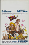 "Movie Posters:War, Villa Rides (Paramount, 1968). Window Card (14"" X 22""). Western.Directed by Buzz Kulik. Starring Yul Brynner, Robert Mitchu..."