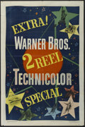 """Movie Posters:Short Subject, Warner Brothers 2 Reel Technicolor Short (Warner Brothers, 1948).One Sheet (27"""" X 41""""). Keywords: football, ski, Statue of ..."""